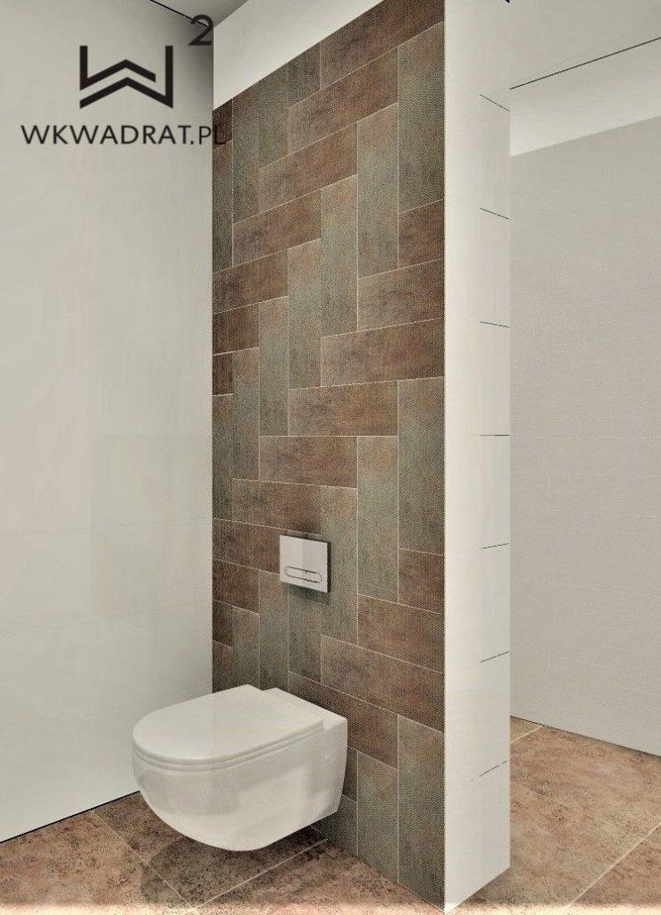 PROJEKTOWANIE I ARANŻACJA WNĘTRZ - ARCHITEKT WNĘTRZ KOSZALIN - łazienka w obiekcie Oasis