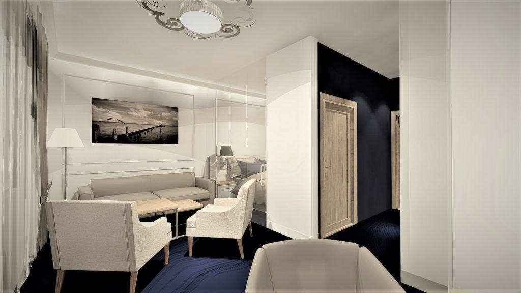 PROJEKTOWANIE I ARANŻACJA WNĘTRZ - ARCHITEKT WNĘTRZ KOSZALIN -pokoj-hotelowy 2020 -projekt-wnetrz-apartamantu-hotelowego