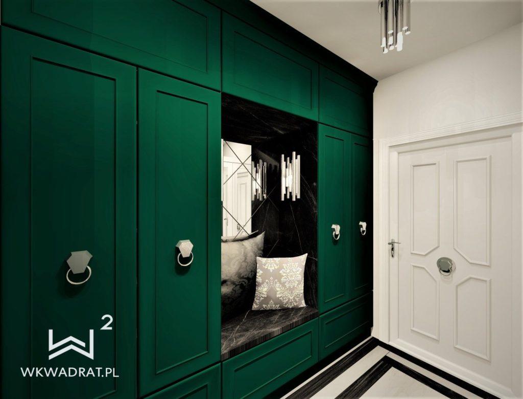 PROJEKTOWANIE I ARANŻACJA WNĘTRZ - ARCHITEKT WNĘTRZ KOSZALIN projekt-aranzacji-hol-apartamentu-3-projektowanie