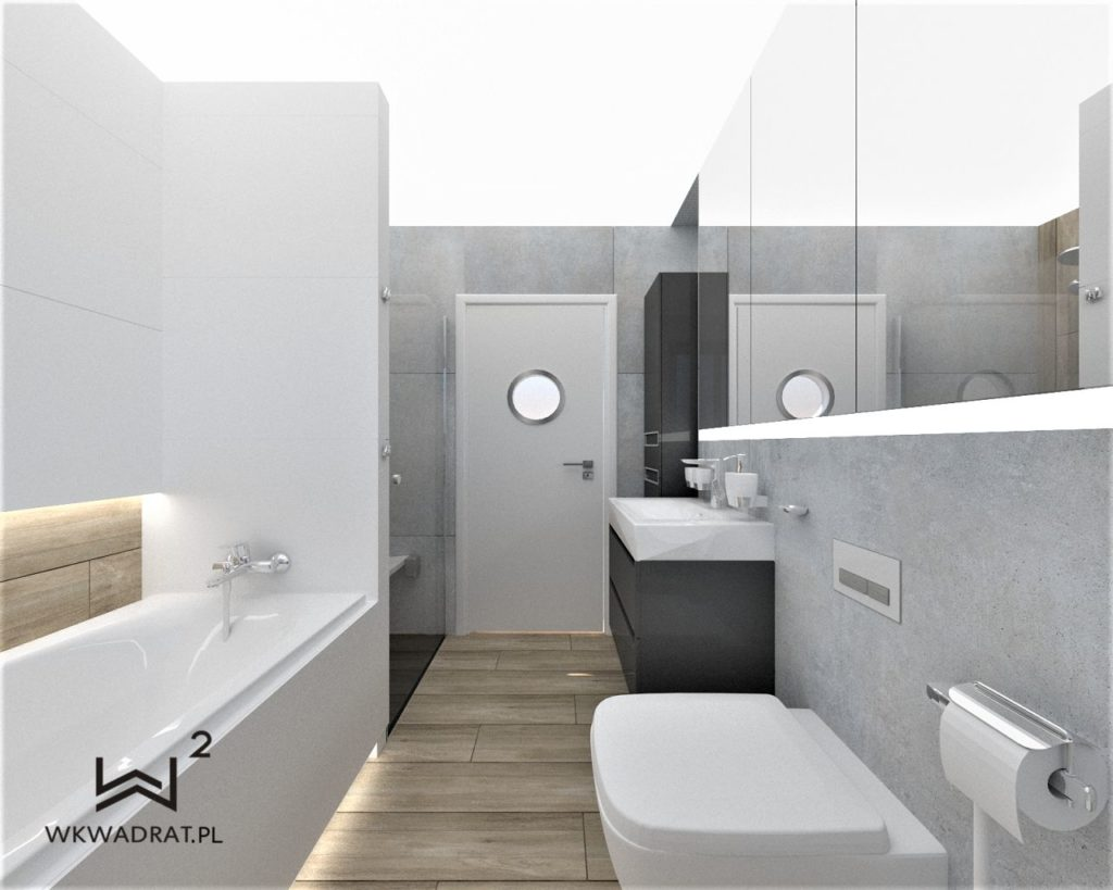 PROJEKTOWANIE I ARANŻACJA WNĘTRZ - ARCHITEKT WNĘTRZ KOSZALIN -projekt-aranzacji-wnetrza-lazienki 2020 -drewno-betony