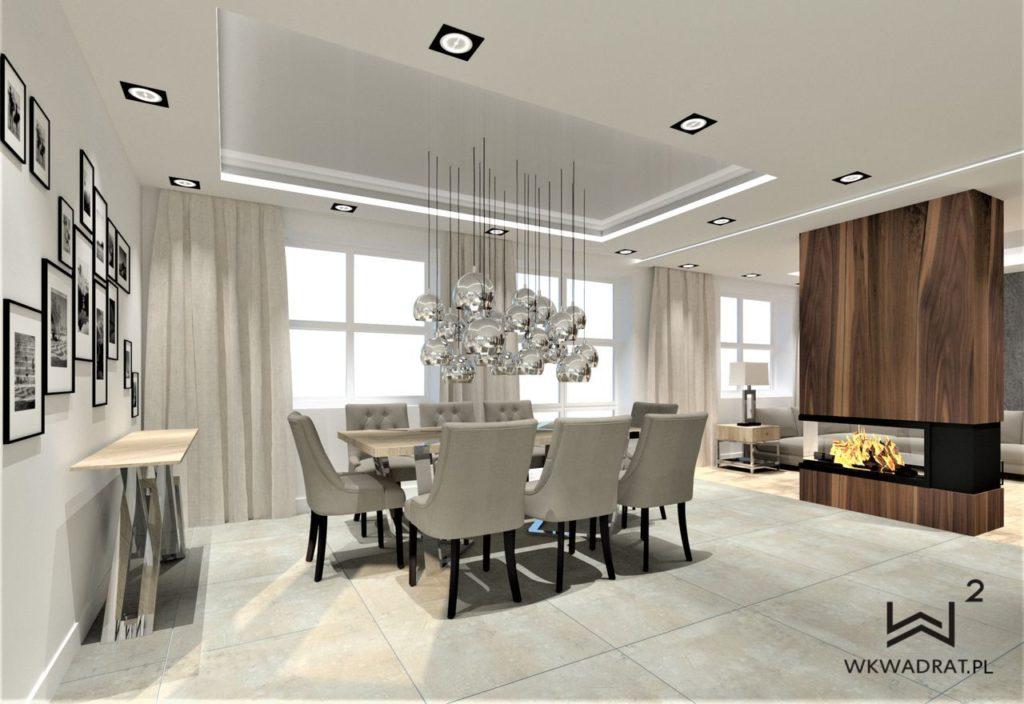 PROJEKTOWANIE I ARANŻACJA WNĘTRZ - ARCHITEKT WNĘTRZ KOSZALIN projekt-salonu-dom-jednorodzinny-pracownia-wkwadrat-pl-3