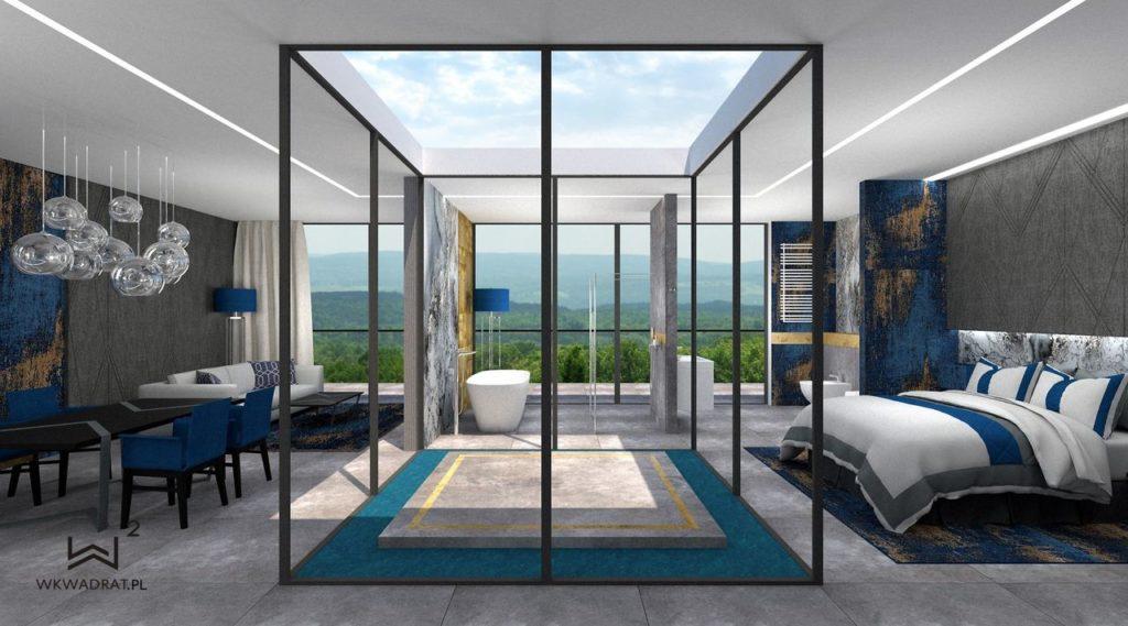 PROJEKTOWANIE I ARANŻACJA WNĘTRZ - ARCHITEKT WNĘTRZ KOSZALIN -projekt-wnętrz-pokoju-hotelowego-aranzacja-apartementu-wkwadrat-pl