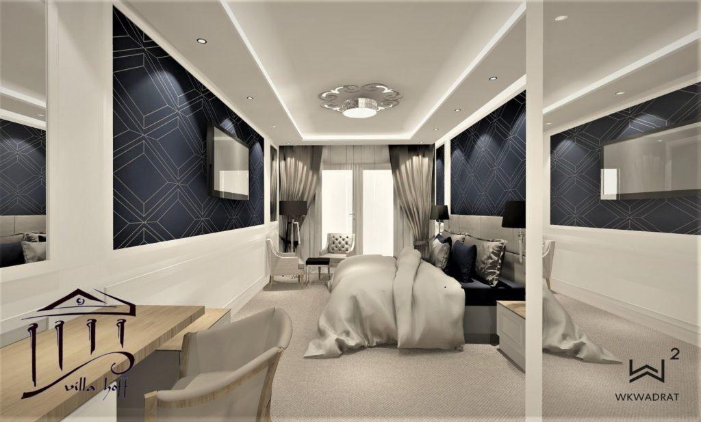 PROJEKTOWANIE I ARANŻACJA WNĘTRZ - ARCHITEKT WNĘTRZ KOSZALIN -villa-hoff-pokój-hotelowy standard-wkwadrat-pl