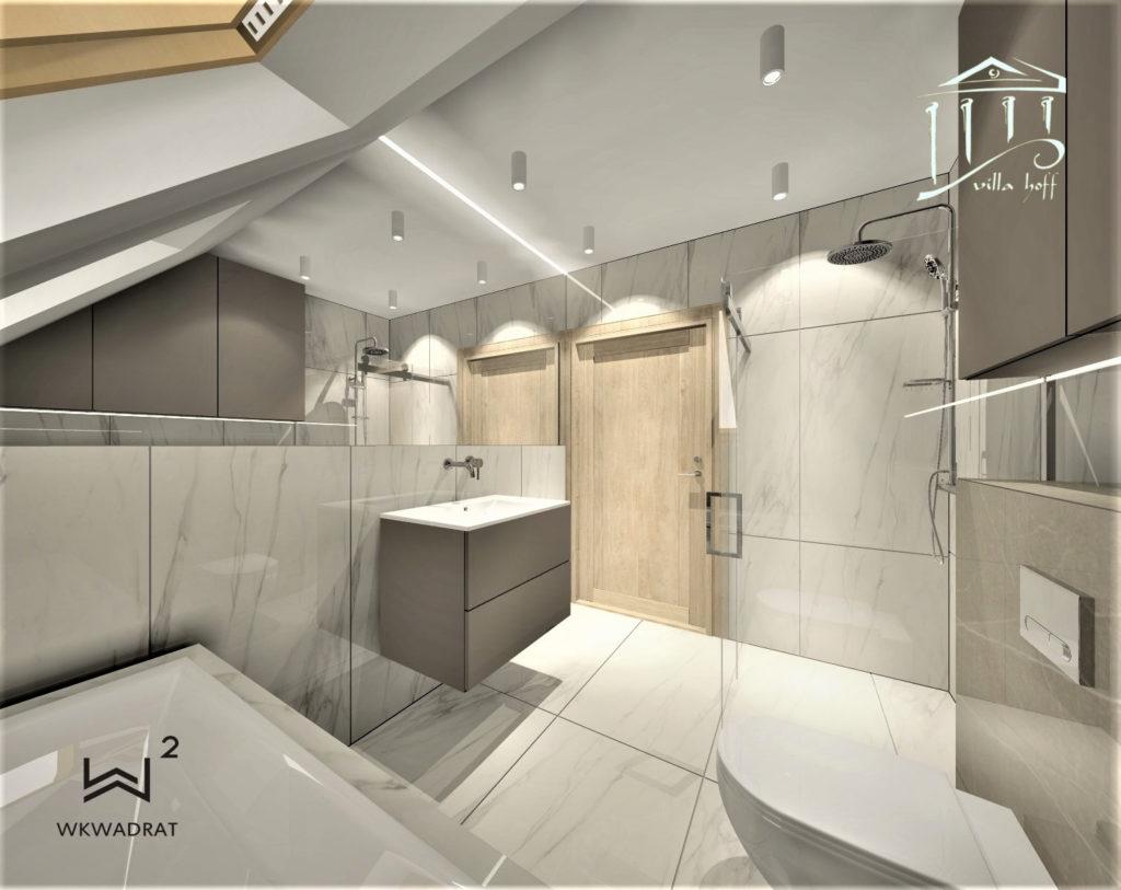Projektowanie łazienki w hotelu i pensjonacie - Koszalin, Mielno, Łazy